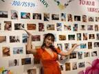 """森咲智美""""エロ過ぎる写真展""""開催 SEXYカット多数で「全部お気に入り」"""