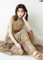 永野芽郁、トレンド春ファッションで美スタイル披露