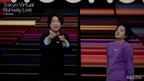 ぺこぱ、ランウェイデビューで猛烈カメラアピール<Tokyo Virtual Runway Live by GirlsAward>