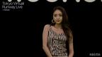 みちょぱ、素肌見せコーデで大人の色気<Tokyo Virtual Runway Live by GirlsAward>