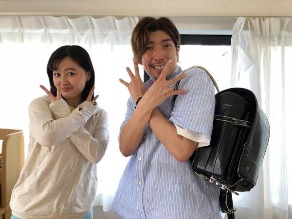 "EXITりんたろー。&久住小春、全力の""変顔""披露 兄妹役で抜群コンビネーション"