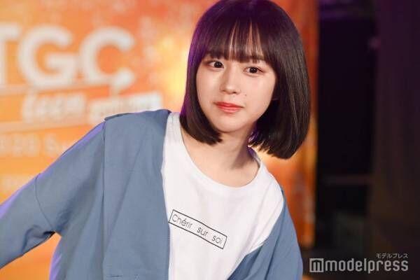 """""""いま日本の女の子が一番なりたい顔""""なえなの、ショーパンでスラリ美脚披露<TGC teen 2020 Summer online>"""