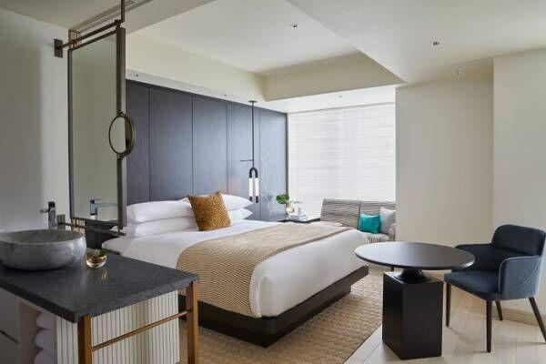 「キンプトン新宿東京」日本初上陸ホテルの客室&カフェ・ラウンジ公開