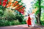 ムーミンバレーパーク「ムーミン谷とアンブレラ」約1200本のカラフルな傘が彩る回廊