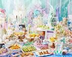 """""""人魚姫""""スイーツビュッフェ「マーメイド ラグーン」旬のメロンがケーキやタルトに"""