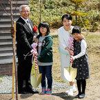吉永小百合、北の桜守パーク・オープンセレモニーに出席し桜を植樹!