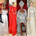 アン・ハサウェイ、リアーナらが豪華ドレス身にまといメットガラに登場!