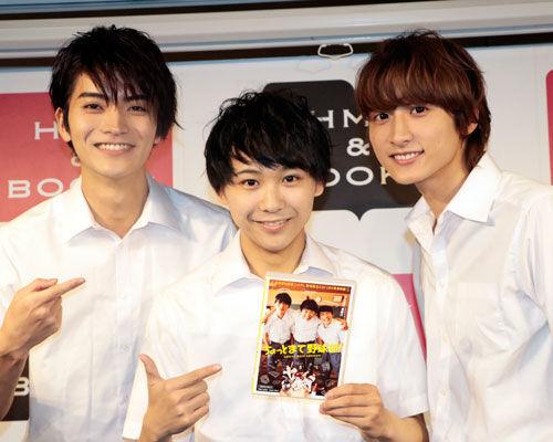 須賀健太、小関裕太、山本涼介、『ちょっとまて野球部!』で1年生トリオ演じた3人が仲良しトーク!