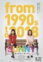 90年代音楽満載!篠原涼子&広瀬すず『SUNNY 強い気持ち・強い愛』予告編解禁