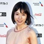 松岡茉優が華麗なドレス姿で登場!東京国際映画祭開幕