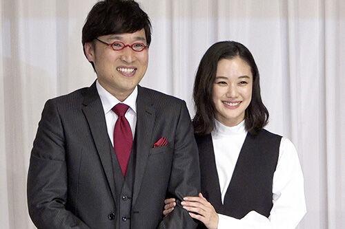 南キャンの山里亮太と蒼井優「優」「亮太」と呼び合い照れ笑い