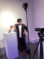 稲垣吾郎、香取慎吾のアート作品展へ「彼の心境、喜びや痛みもしっかり伝わりました」