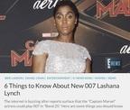 史上初の女性「007」が登場!? ジャマイカにルーツの英国女優