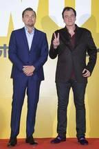 ディカプリオもタランティーノ監督も「アリガトウ」と日本語で挨拶!
