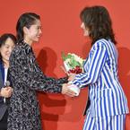 宮崎あおい、国際的女優ジュリエット・ビノシュとの対面に感激「涙が出そうになった」
