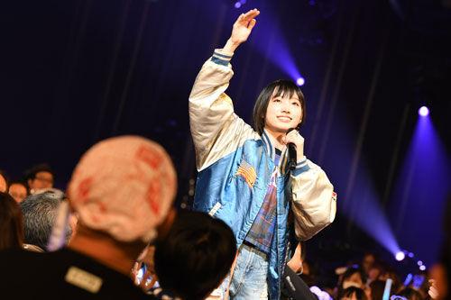 NMB48卒業控えた太田夢莉が初ソロコン。ラストは前向きなメッセージ!