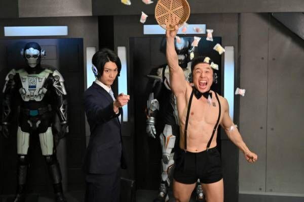 """『仮面ライダーゼロワン』""""腹筋崩壊太郎""""なかやまきんに君が劇場版参戦!"""
