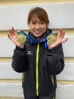 長野五輪銅メダリストの岡崎朋美、世界マスターズ500m・1000mで2冠!
