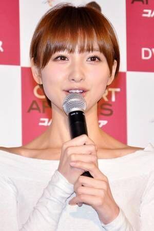 篠田麻里子が第1子出産を報告「新しい命の誕生に感謝」