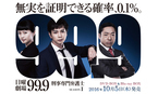 『99.9−刑事専門弁護士−』松潤にファンドキドキ「顔ちっちぇ、睫毛長ぇ!」
