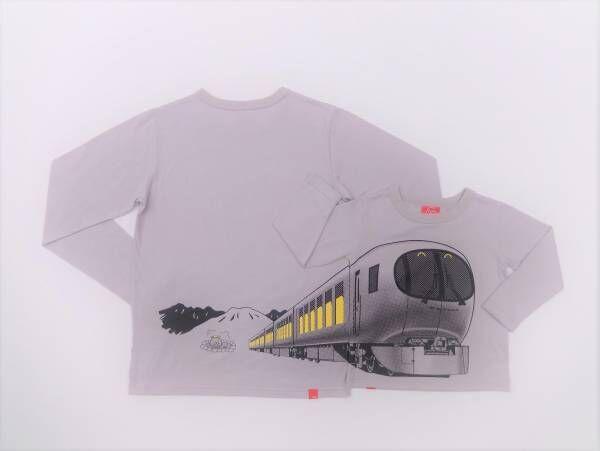 TシャツのOJICOから「西武特急ラビュー」デザインの新作長袖Tシャツが登場!
