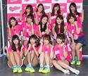 弾ける健康美! 人気グラビアアイドルによるスポーツ応援チーム『グラチア』お披露目会開催