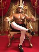 プロレスラー・棚橋弘至、コント初挑戦 「裸の王様」になりきり