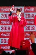 池田エライザ、10万人とともに「あけおめ!」 渋谷でカウントダウンイベント