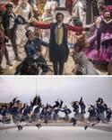 登美丘高校ダンス部、今度は映画とコラボ 制服姿で圧巻のダンス披露