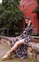 16歳女子高生・moca、台湾発のブランドを着こなす