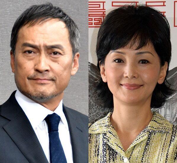 離婚を発表した(左から)渡辺謙、南果歩 (C)ORICON NewS inc.