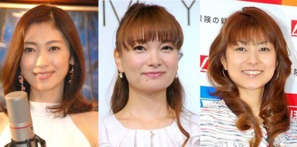 (左から)飯田圭織、保田圭、石黒彩 (C)ORICON NewS inc.