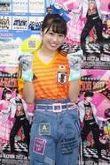ももクロ・佐々木彩夏、ユニフォーム姿でサッカー日本代表にエール「ゴールキーパーってドンと構えてカッコいい」