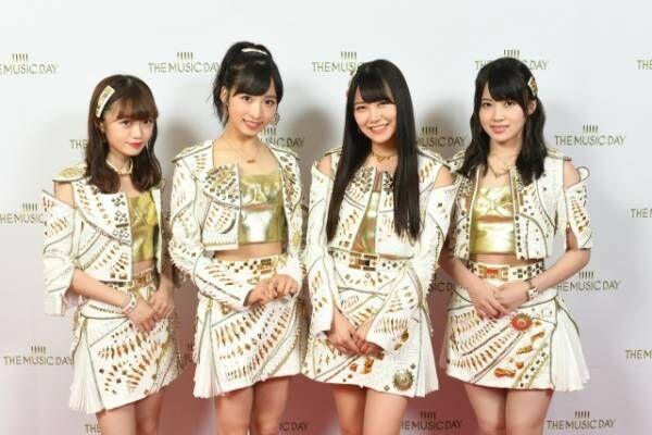 AKB48(左から)中井りか、小栗有以、白間美瑠、岡部麟(C)日本テレビ