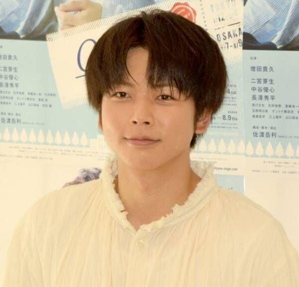 主演舞台『Only You ~ぼくらのROMEO&JULIET~』公開ゲネプロに参加した増田貴久 (C)ORICON NewS inc.