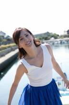 伝説のグラビア女王・遠野舞子、10年ぶりに美肌を披露 美しさ変わらぬ44歳