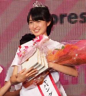 『2019ミス・ティーン・ジャパン』グランプリに輝いた宮部のぞみさん (C)ORICON NewS inc.