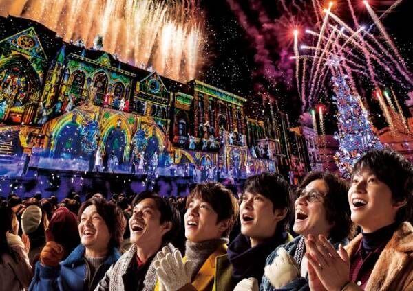 ユニバーサル・スタジオ・ジャパンのクリスマス・アンバサダーに就任した関ジャニ∞画像提供:ユニバーサル・スタジオ・ジャパン