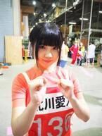 【オールスター感謝祭】SKE48北川愛乃、念願の赤坂ミニマラソン出場