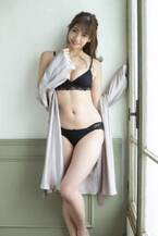 驚異的ボディの新人モデル・得能あゆみ、初グラビアで「大人セクシー目指しました!」