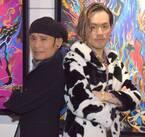 片岡鶴太郎、次男・荻野綱久が画家で独り立ちし感慨「一人の男としても祝福したい」