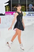 本田望結、つるんつるんのリンク開きで大人びた姿見せる「今年に入って6、7cmぐらい身長が伸びました」