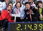 土屋太鳳、桐生祥秀選手と豪華リレー バトンパスに興奮「一人オリンピック気分」