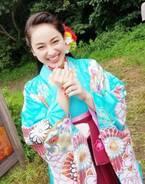 平祐奈、着物姿で大笑い オフショット公開「ほんといい笑顔」