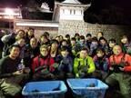 歴史的発見が続々 丸亀城&萩城のお堀の水『ぜんぶ抜く』