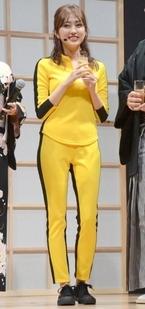 菊地亜美『キル・ビル』衣装で登場も映画を知らず「ジャッキー・チェンかと思った」