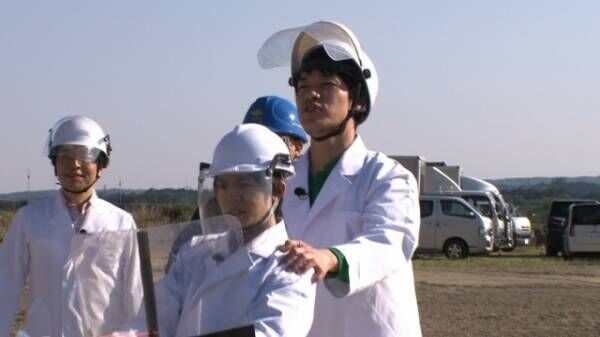 26日放送の『でんじろうのTHE実験2時間SP』の模様(C)フジテレビ