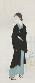 鏑木清方、所在不明の代表作『築地明石町』 44年ぶり東京国立近代美術館で公開へ