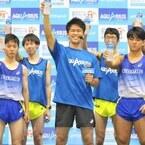 武井壮が母校をサプライズ訪問、「日本一質の高い練習を日本一こなせば、絶対日本一になれる」