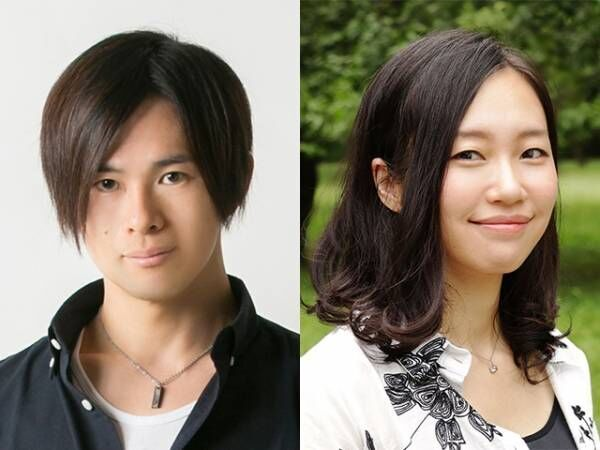 TABプロダクション所属・西森千豊(左)と内田りりこ(右)